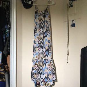 Long billabong dress